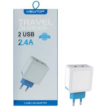 Presa USB  per Cavi USB 2.4A