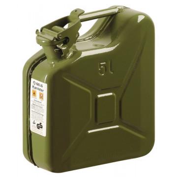 Tanica metallo 5 litri